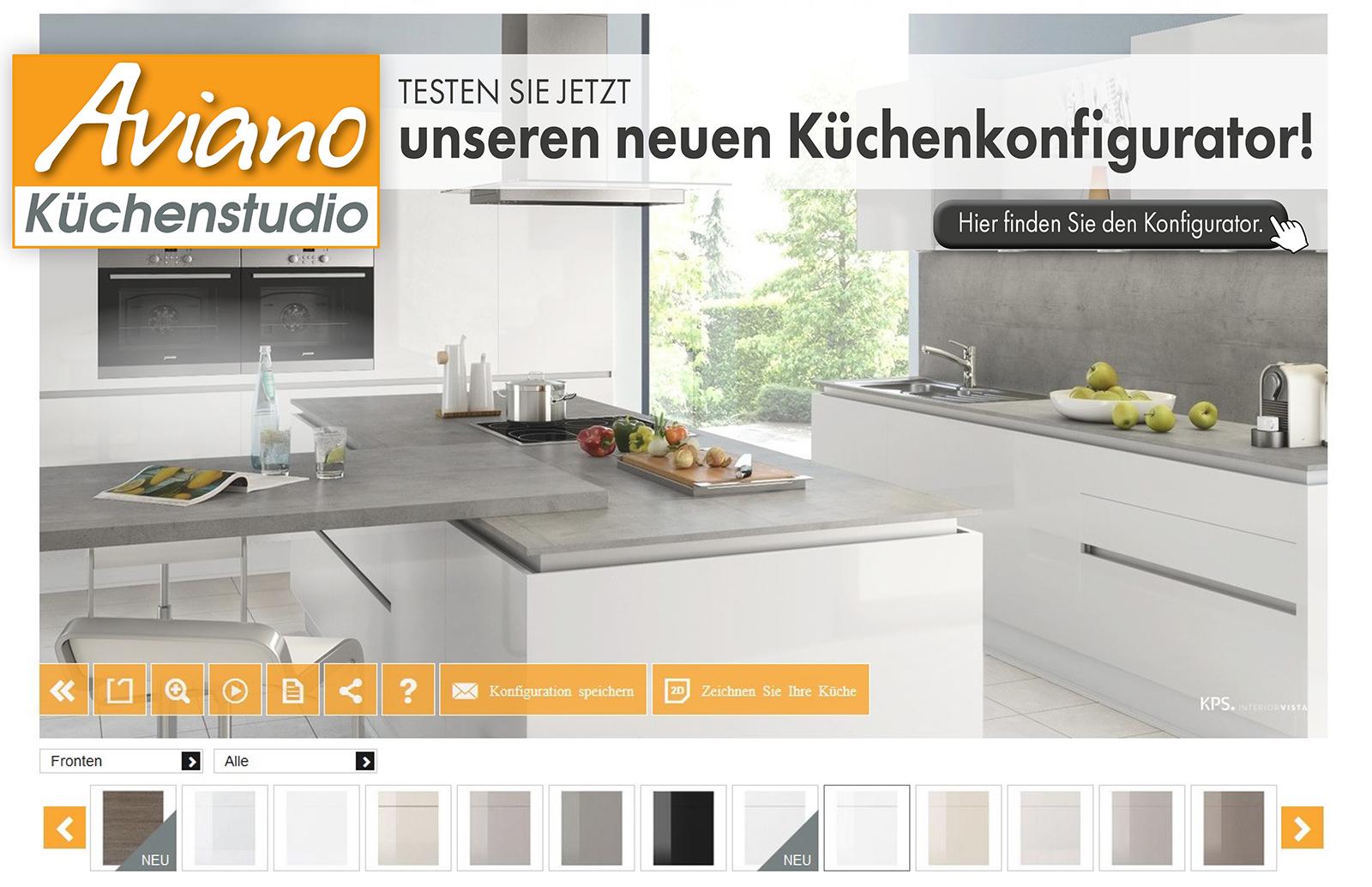 Aviano Küchenstudio - Küchenkonfigurator